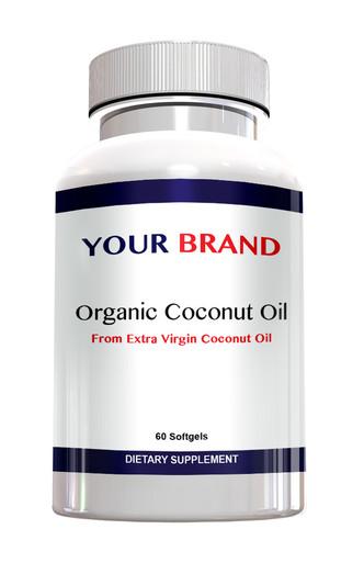 Private Label Supplement Coconut Oil