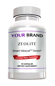 Private Label Zeolite Detox, 90 Capsules