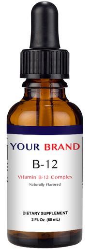 Private Label Supplement Vitamin B12 Drops