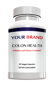 Private Label Supplements - Colon Health Cleanse & Detox