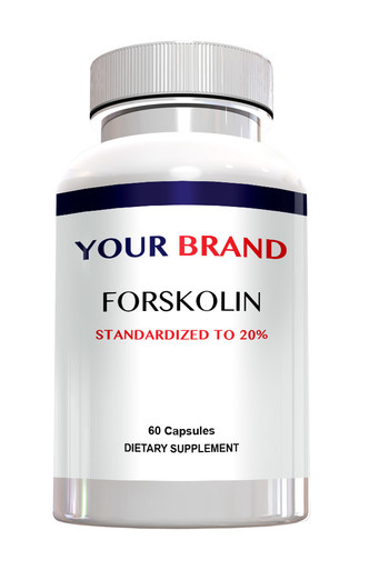 Private Label Supplement Forskolin 20% 250 mg