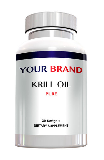 Private Label Supplements Krill Oil