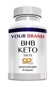 Private Label Supplements - Keto BHB Salts