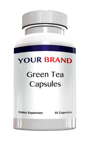 Private Label Supplements -Green Tea Capsules