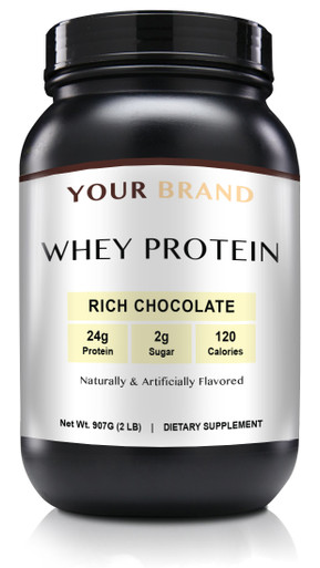 Private Label Supplements - Whey Protein Rich Chocolate