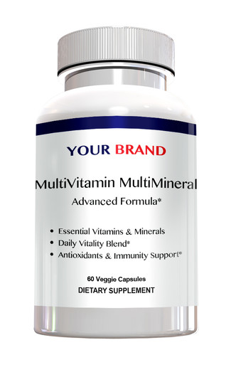 Private Label Supplements - MultiVitamin MultiMineral