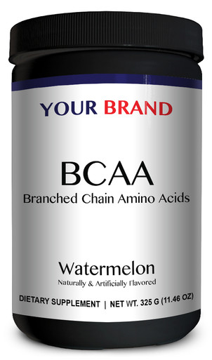 Private Label Supplements - BCAA Watermelon