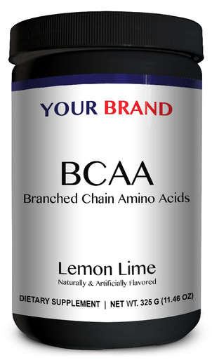 Private Label Supplements - BCAA - Lemon Lime