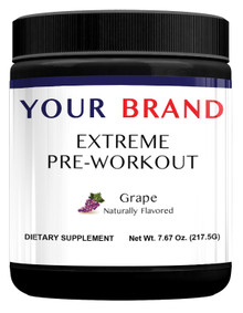 Private Label Supplements-Extreme Pre-Workout