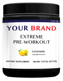 Private Label Supplements - Extreme Pre-Workout