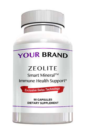Private Label Supplement - Zeolite Smart Mineral Immune Health Support