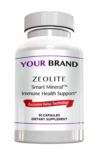 Private Label Supplement - Zeolite Smart Mineral Immune Health Support