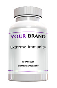Private Label Supplements - Extreme Immunity Formula