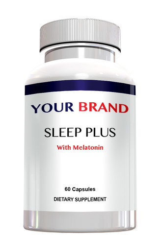 Private Label Supplements Sleep Aid With Melatonin
