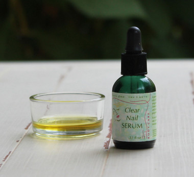 Clear Nail Serum - treat your feet to looking their best.