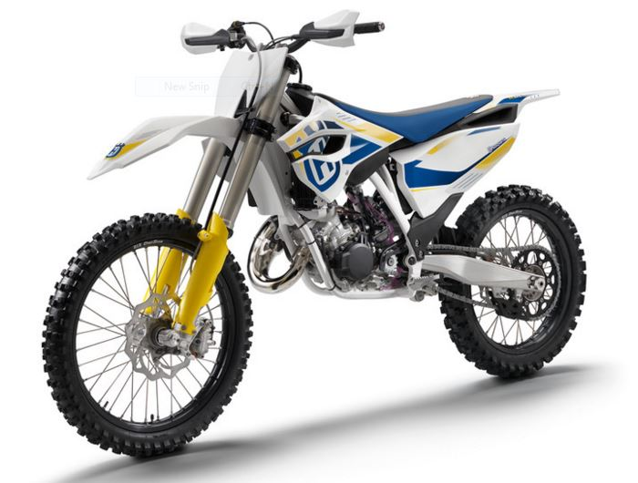 HUSQVARNA TC125 dirt bike parts