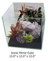 UP Aqua Iconic Mirror Rimless Nano Tank, 7.5 Gallon