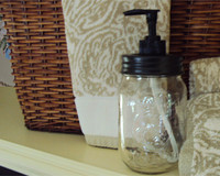 Mason Jar Soap Dispenser Lid