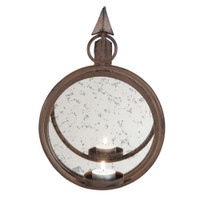Metal Candleholder Wall Sconce