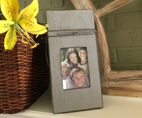 Clothes Pin Photo Frame