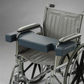 """Posey Lap Hugger Notched Wheelchair Support Cushion Fits 16-18"""" Prevent Sliding"""