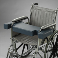 """Posey Lap Hugger Notched Wheelchair Support Cushion Fits 20-24"""" Prevent Sliding"""