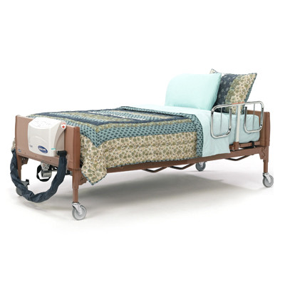 Invacare Full Electric Bariatric Bed 600lb Capacity