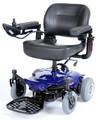Drive Cobalt X23 Rear Wheel Drive Travel Power Wheelchair Blue