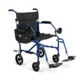 Medline Freedom 2 Transport Wheelchair - Blue