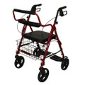 "Roscoe Companion Transport w/ 8"" Wheels Burgundy"