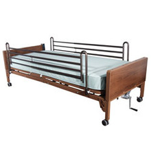 Roscoe Semi Electric Single Motor Bed w/ Full Length Rails. * Mattress not included