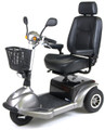 Drive Prowler 3-Wheel Mobility Scooter Silver