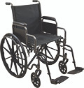 Refurbished Gently Used Wheelchair