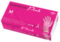 Generation Pink 3G advanced vinyl exam gloves