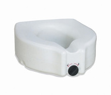 Medline Elevated Toilet Seat without arms