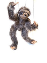 This colorful Large Sloth Marionette Puppet is fun for all ages!
