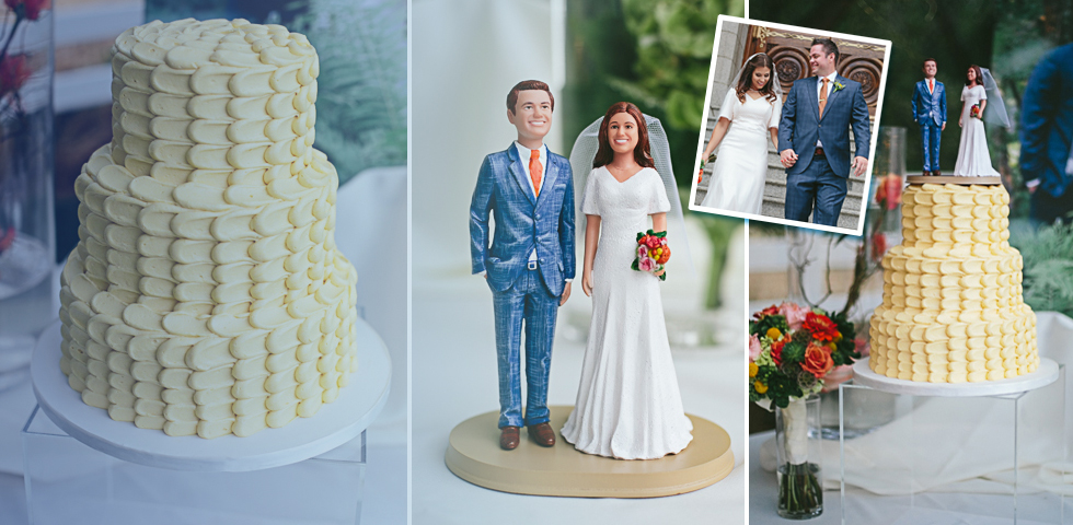 Delightful Custom Wedding Cake Toppers