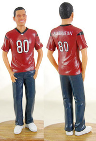 Sports Groom Cake Topper Figurine