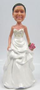 Farrah Cake Topper Figurine