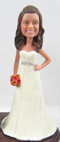Lindsey Cake Topper Figurine