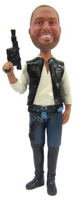 Han Solo Groom Cake Topper Figurine