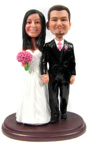 Custom couple wedding bobblehead