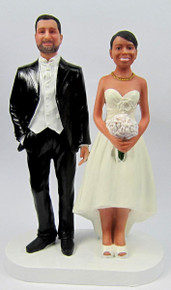 Western Couple Cake Topper