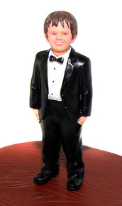 Ring Bearer Add-on Cake Topper Figurine