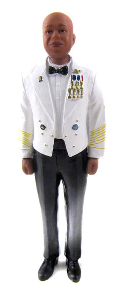 Army Officer Cake Topper Figurine