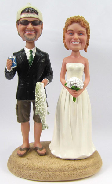 Fisherman Groom w/ Interchangeable Bride Style