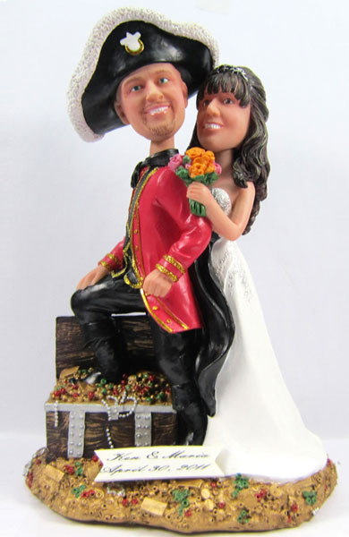 pirate ship wedding cake topper pirate wedding cake topper 18617