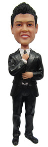 Real Peeps Cake Topper Male #2 - Suit and Tie