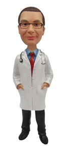 Real Peeps Cake Topper Male #13 - Male Doctor
