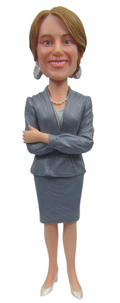 Real Peeps Cake Topper Female #9 - Business Suit